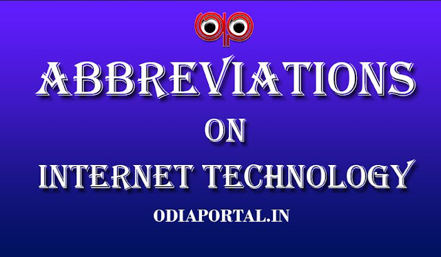 """99 Common """"Internet Technology"""" Abbreviations For Students (.PDF Available)"""