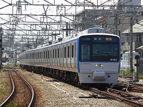 【ダイヤ改正前に運行終了!】9000系幕車の特急 横浜行き