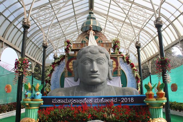 Bahubali Mahamasthakabhisheka 2018, Bahubali, Bangalore, Lal Bagh, Lal Bagh Flower Show, Lal Bagh Flower Show 2018