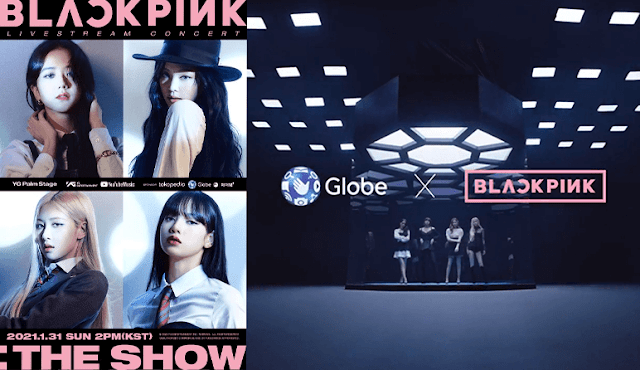 Patty Villegas - The Lifestyle Wanderer - Globe - Blackpink - Reinvent - The Show - 1st - Livestream - Concert - title