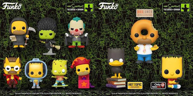 "Funko Pop ""Treehouse of Horror"""