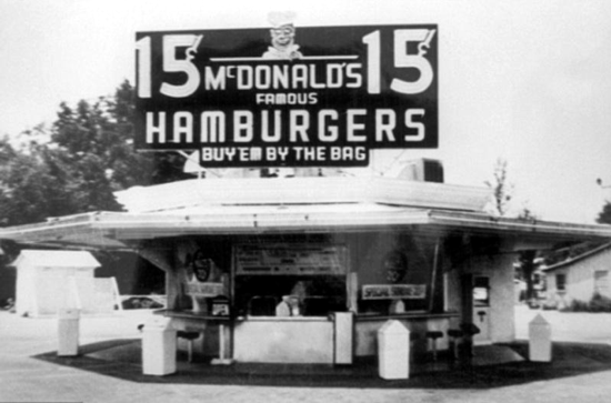 McDonald's reopened in 1948