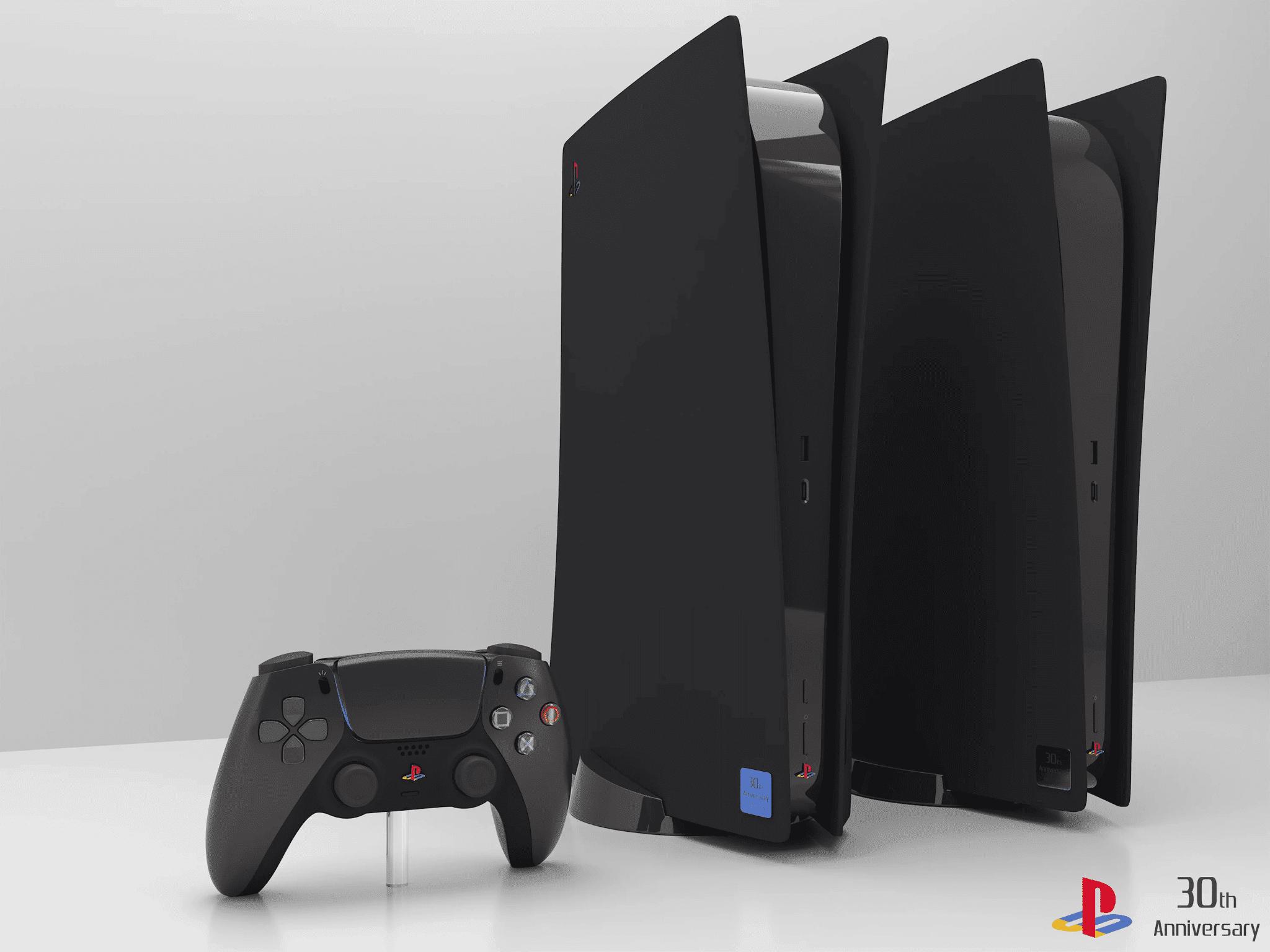 Fan art imagina PlayStation 5 com visual inspirado no clássico PS2