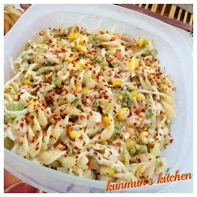 Fusilli pasta with Tuna