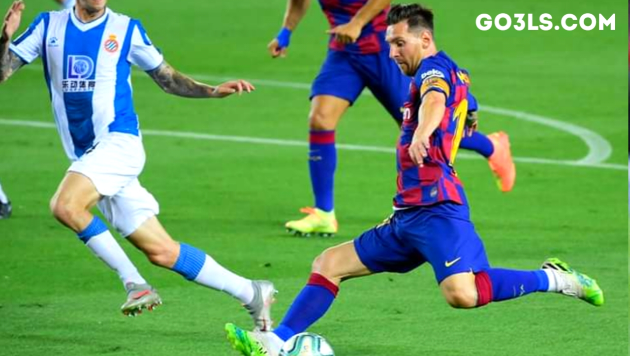 Barcelona against Espanyol