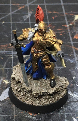 Sisters of Silence Oblivion Knight WIP - front