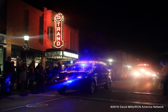 Rocky Coast News Hundreds Lined Rockland Main Street For