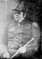 Fotografía real del capitán Sir John Franklin