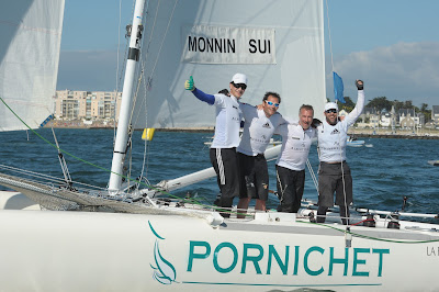 Eric Monnin a remporté les Internationaux de France de Match Racing à Pornichet
