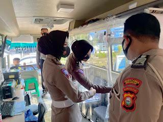 Kanit Regident Sim Satlantas Polrestabes Makassar Cek Pelayanan Simkel