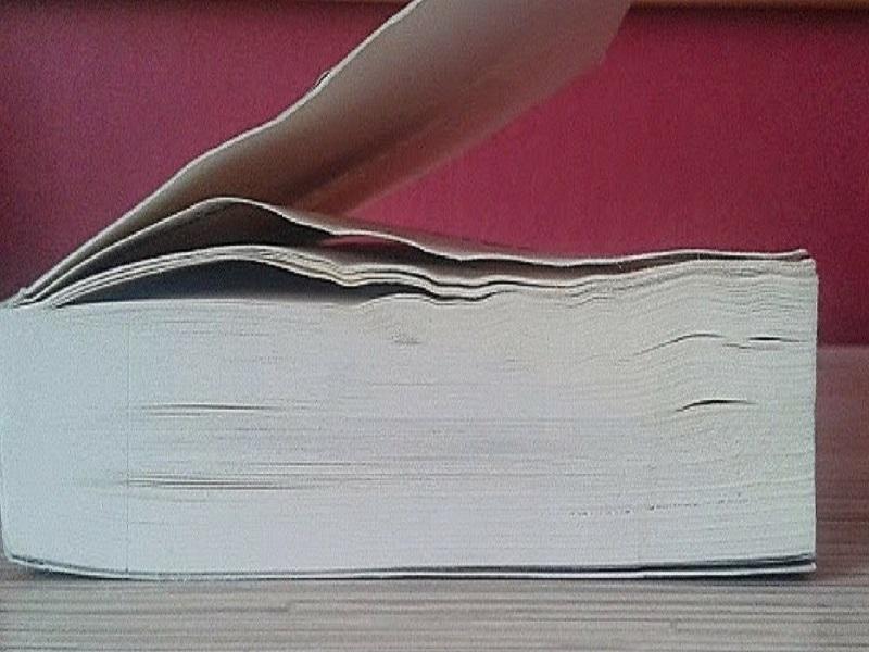 Poradnik: Jak wyprostować zamoczoną stronę książki?, Inne, Marzenie Literackie