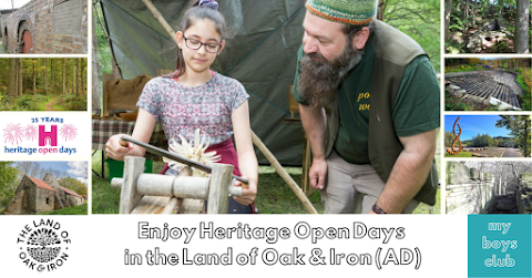 Enjoy Heritage Open Days in Land of Oak & Iron (AD)