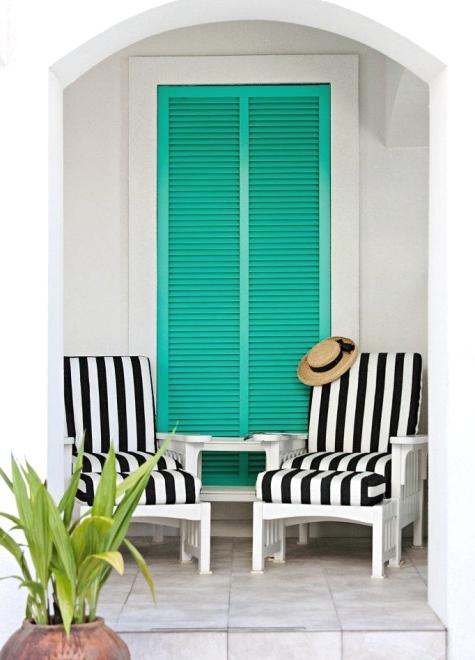 beach house decor outdoor space