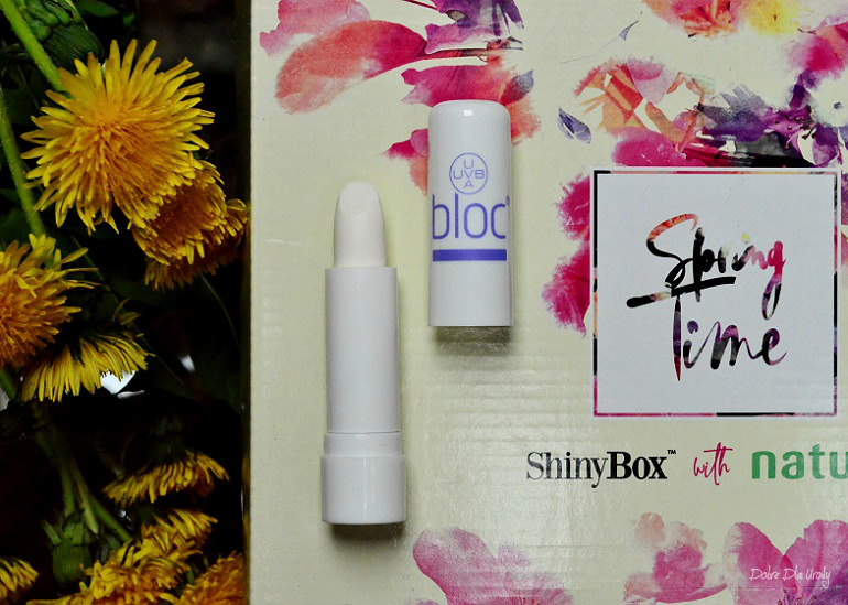 ShinyBox with Natura Spring Time - Empire Pharma BLOC Lip Sun Protection SPF 15 Nawilżająco-ochronna pomadka do ust