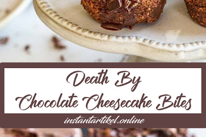 Death-by-Chocolate Cheesecake Bites