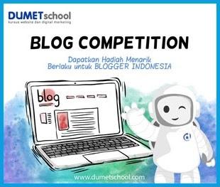 Ikuti Lomba Blog Setiap Bulan Di DUMETschool
