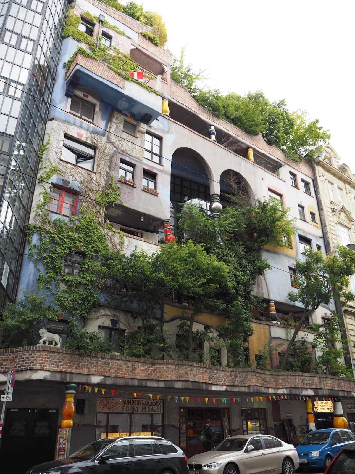 Hundertwasser Haus in Vienna