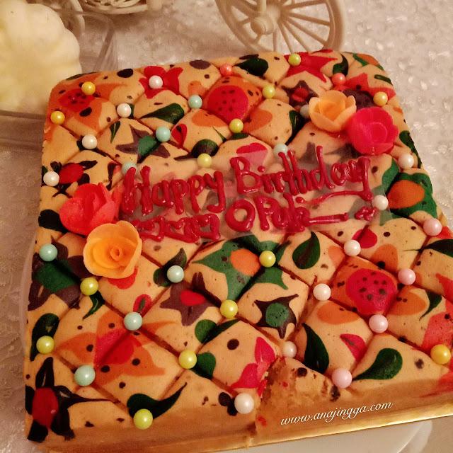 kek hari lahir mak