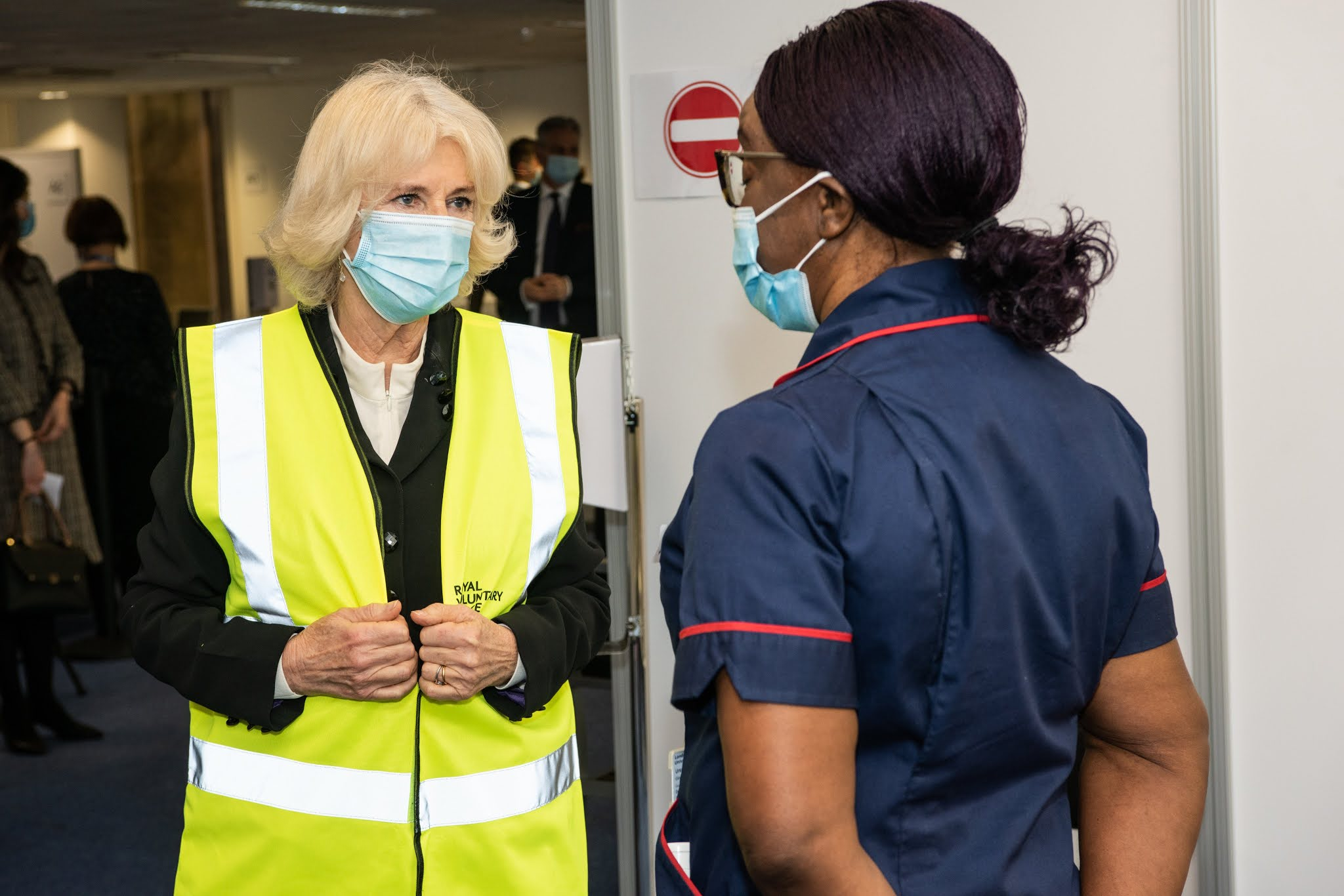 """Camilla talked about her own vaccination and said, """"It feels like the first step of freedom"""