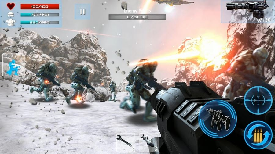 download Enemy Strike 2 Mod Apk v1.0.4 (Unlimited Health + Ammo) 2