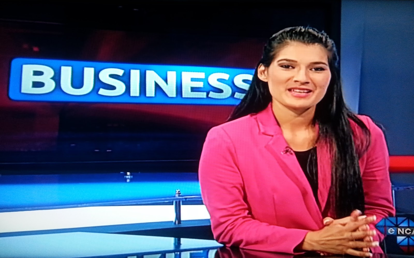 TV with Thinus: Eleni Giokos is back on eNCA after her Greek holiday