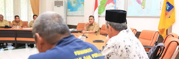 Wali Kota Tarakan Menerima Kunjungan Silaturahmi Forum Komunikasi Pengawas Masyarakat Nelayan
