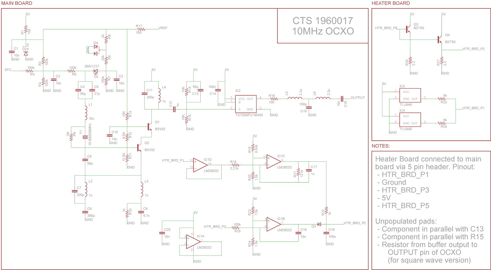 The Sync Channel Blog Schematic Of The Cts 10mhz Ocxo