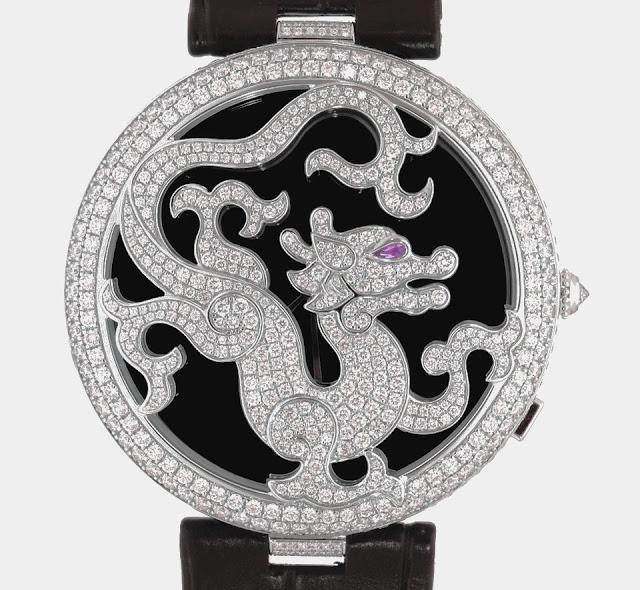 """أفضل ساعة كارتير """"Cartier Dragon Limited Edition"""""""