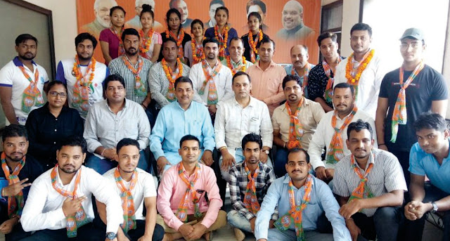Faridabad BJP District Sports Cell's newly appointed executive committee constituted