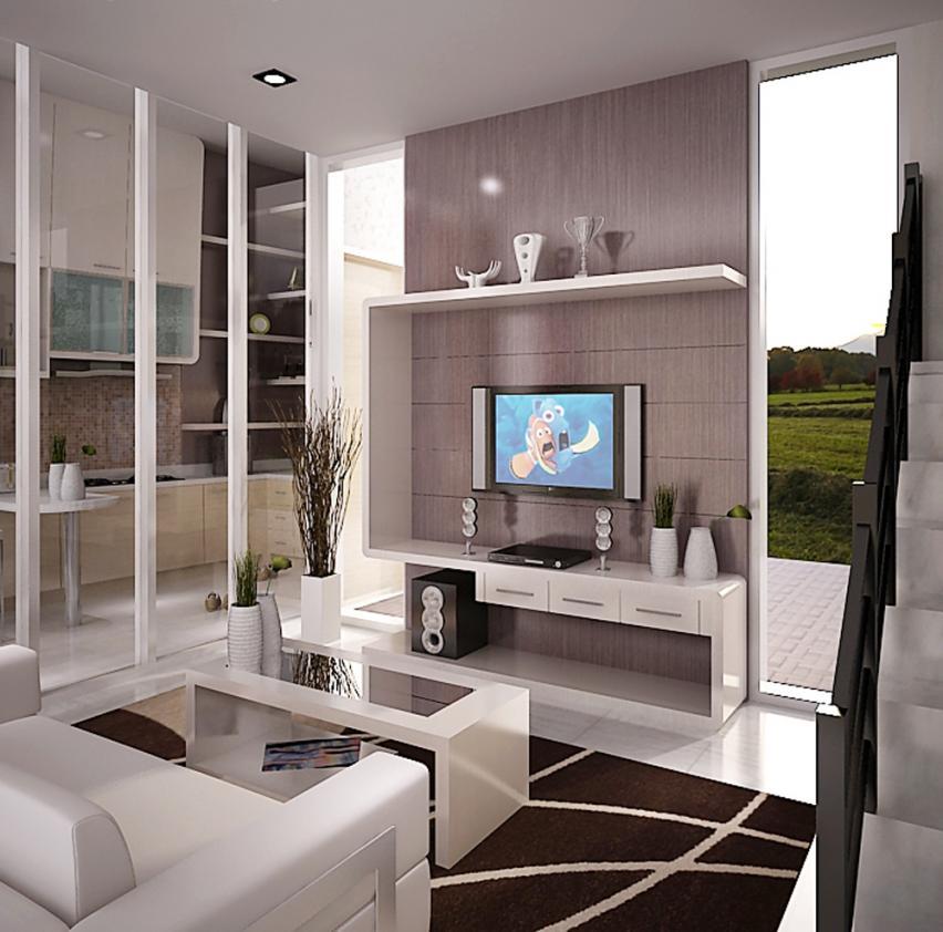 Desain Interior Ruang Keluarga Sederhana