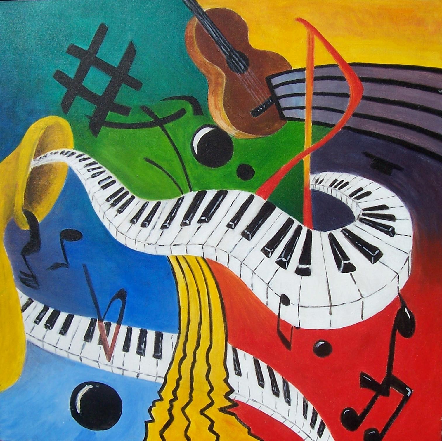 Immagini Di Strumenti Musicali Da Colorare