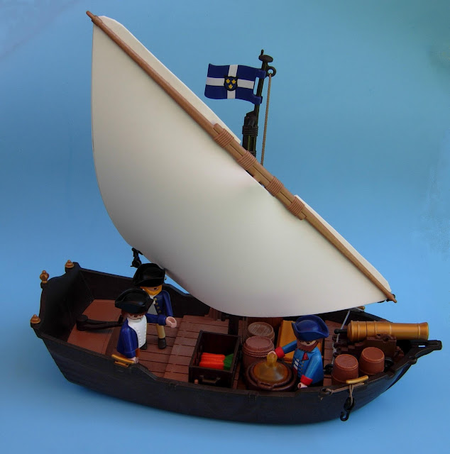 Playmobil Pirate diorama