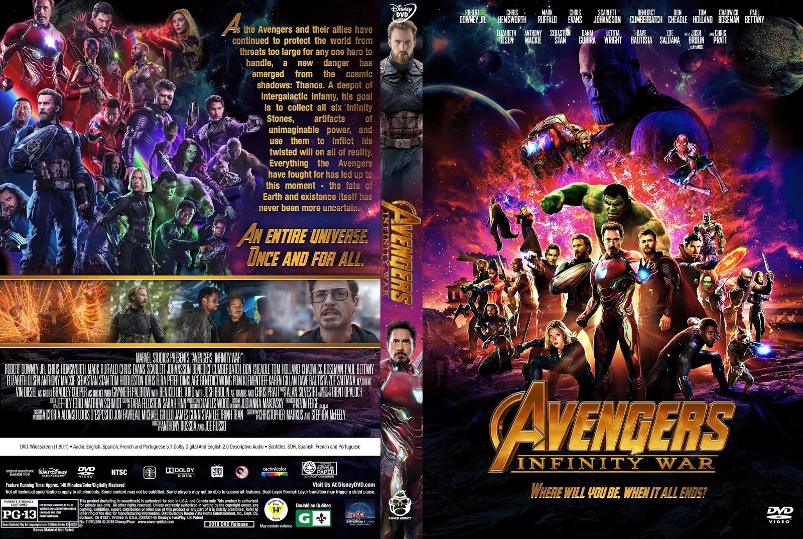 Ende Avengers Infinity War
