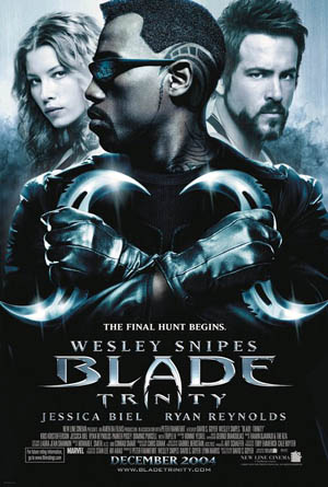 Poster Of Blade 3 (2004) 720p Hindi BRRip Dual Audio Full Movie Download
