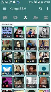BBM Mod IJO v3.0.1.25 Not Clone Apk Terbaru