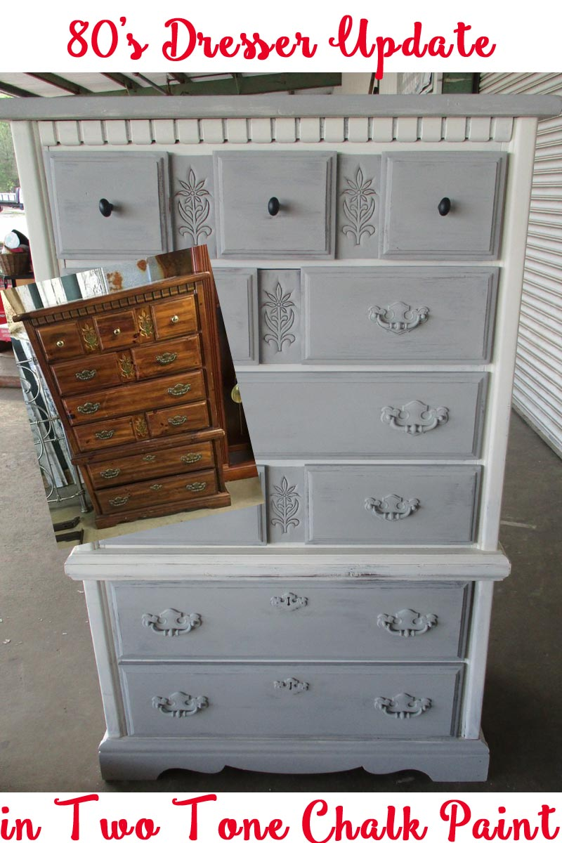 Thrifty little things annie sloan chalk paint projects for 80s furniture