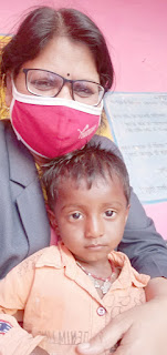 परियोजना लखनादौन में अति गंभीर कुपोषण से अभय सहित मुक्त हुये 14 बच्चे