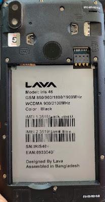 Lava Iris 46 Frp Bypass File
