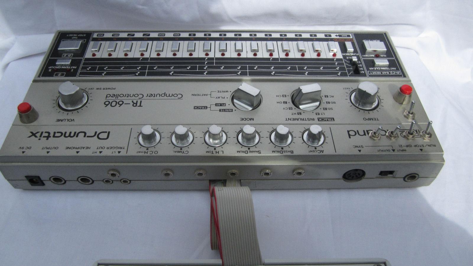 matrixsynth roland tr 606 drumatix drum machine with mods. Black Bedroom Furniture Sets. Home Design Ideas