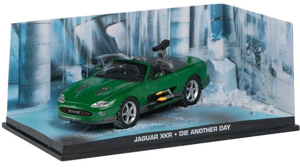 Jaguar XKR - Die another day 1:43 colección james bond