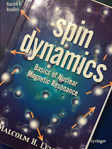 Spin Dynamics, by Malcolm Levitt, superimposed on Intermediate Physics for Medicine and Biology.