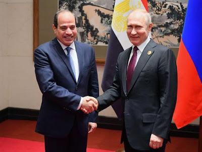 القمة المصرية الروسية, الرئيس السيسى, بوتين, سوتشى,
