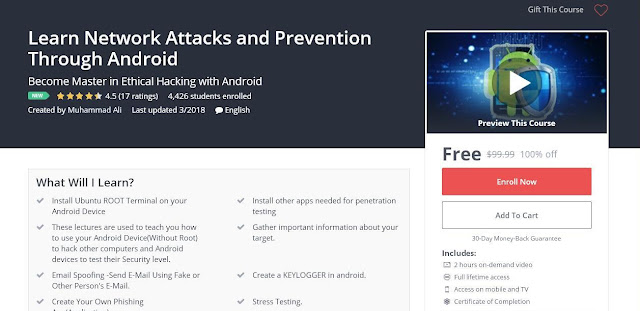 Learn Network Attacks and Prevention Through Android
