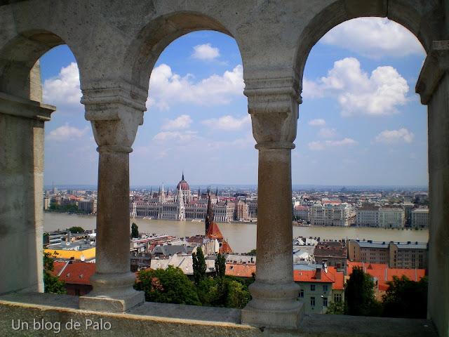 Budapest vistas al Danubio