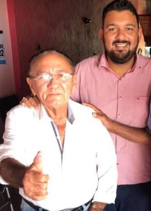 Morre primeira vítima de coronavírus em Jangada avô do vereador Rogério Meira