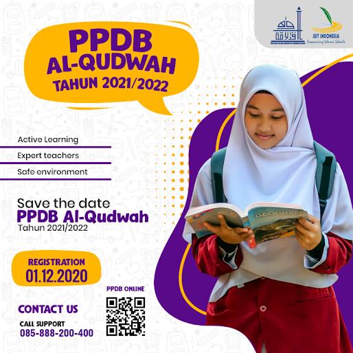 Pendaftaran SMA Terpadu Al Qudwah 2021/2022