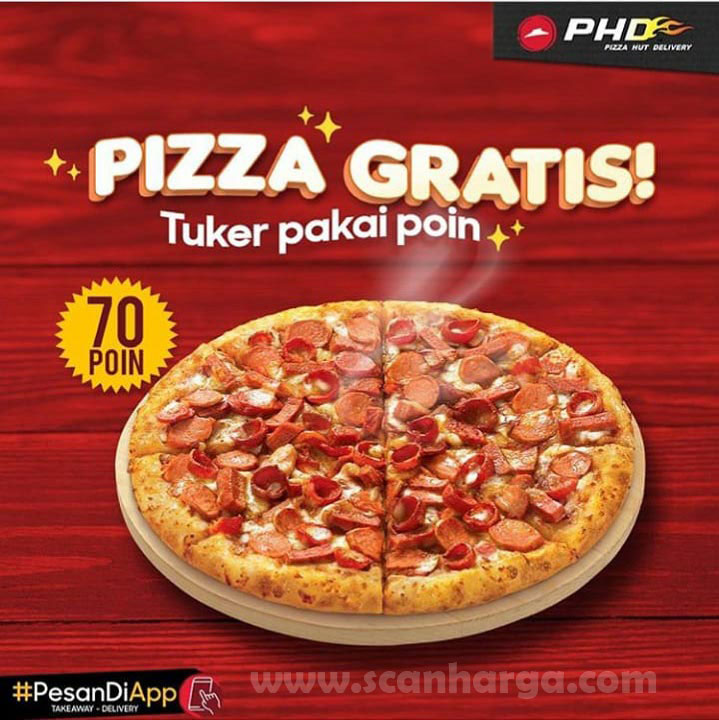 Promo PHD Beli Pizza Meaty - Big Box Gratis Tuker Pakai Poin