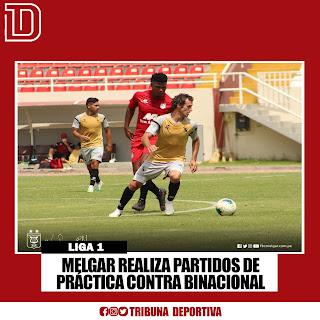 MELGAR REALIZA PARTIDOS DE PRACTICA