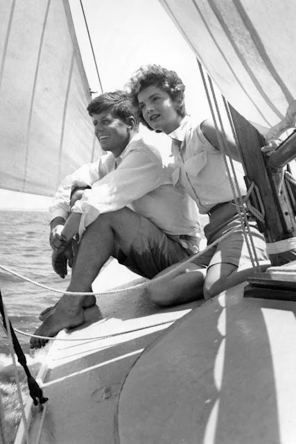 Kennedys sailing