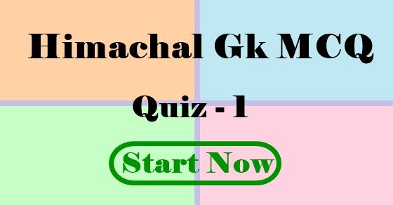 Himachal Gk
